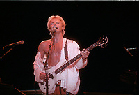 The POLICE le 3 aout 1983, au Stade Olympique<br /> <br /> PHOTO : Agence Quebec Presse