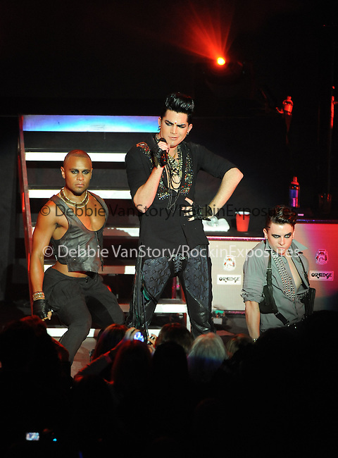 Adam Lambert performs during his Glam Nation Tour live at The Pacific Ampitheatre in Costa Mesa, California on July 27,2010                                                                   Copyright 2010  DVS / RockinExposures