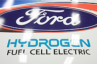 Montreal's AUTO SHOW 2007 feature many Electric cars such as the<br />  Hydrogen Fuel cell Ford Focus 2007.<br /> <br /> <br /> <br /> photo :  Images Distribution
