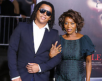 HOLLYWOOD, LOS ANGELES, CA, USA - SEPTEMBER 29: Duncan Spencer, Alfre Woodard arrive at the Los Angeles Premiere Of New Line Cinema's 'Annabelle' held at the TCL Chinese Theatre on September 29, 2014 in Hollywood, Los Angeles, California, United States. (Photo by Xavier Collin/Celebrity Monitor)