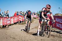 Michael Vanthourenhout (BEL/Pauwels Sauzen - Bingoal)<br /> <br /> Elite Men's Race<br /> 2021 UCI cyclo-cross World Cup - Zonhoven (BEL)<br /> <br /> ©kramon