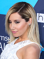 LOS ANGELES, CA, USA - JULY 27: Actress Ashley Tisdale arrives at the 16th Annual Young Hollywood Awards held at The Wiltern on July 27, 2014 in Los Angeles, California, United States. (Photo by Xavier Collin/Celebrity Monitor)