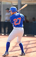 Brandon Guyer / Chicago Cubs 2008 Instructional League..Photo by:  Bill Mitchell/Four Seam Images