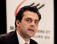Daniel Charron,Association of  Manufacturers and Exporters of Quebec<br /> Photo : Delphine Descamps - Images Distribution