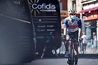 Jasper Stuyven (BEL/Trek Segafredo) pre race<br /> <br /> Stage 5 from Gap to Privas 183km<br /> 107th Tour de France 2020 (2.UWT)<br /> (the 'postponed edition' held in september)<br /> ©kramon