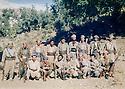Iraq 1986  <br /> In a valley of Matin mountains, peshmergas in charge of monitoring military activities   <br /> Irak 1986 <br /> Dans une vallee de la chaine de Matin, des peshmergas chargés de surveiller des activités militaires