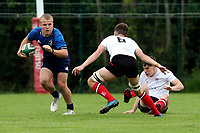 Saturday 4th September 20218 <br /> <br /> Charlie Sheridan during U18 Clubs inter-pro between Ulster Rugby and Leinster at Newforge Country Club, Belfast, Northern Ireland. Photo by John Dickson/Dicksondigital
