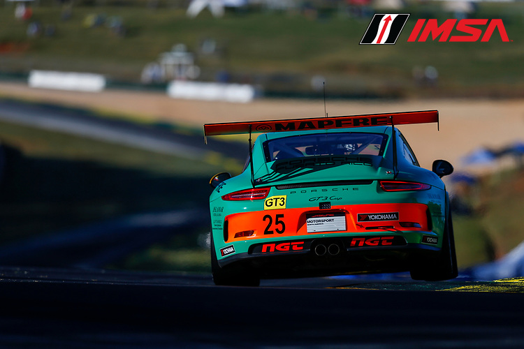 IMSA Porsche GT3 Cup Challenge USA<br /> Road Atlanta<br /> Road Atlanta, Braselton GA<br /> Thursday 5 October 2017<br /> 25, Victor Gomez IV, GT3G, USA, 2016 Porsche 991<br /> World Copyright: Jake Galstad<br /> LAT Images