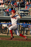 July 19, 2003:  Jack Headley of the Batavia Muckdogs during a game at Dwyer Stadium in Batavia, New York.  Photo by:  Mike Janes/Four Seam Images