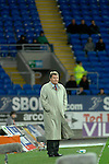 International Friendly match between Wales and Scotland at the new Cardiff City Stadium : Wales Manager John Toshack.