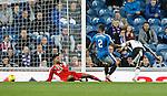 Murray Davidson scores past Rangers keeper Wes Foderingham
