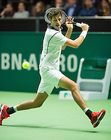 Rotterdam, The Netherlands, Februari 10, 2016,  ABNAMROWTT, Robin Haase (NED)<br /> Photo: Tennisimages/Henk Koster