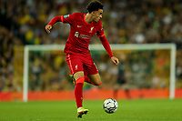 21st September 2021; Carrow Road, Norwich, England; EFL Cup Footballl Norwich City versus Liverpool; Curtis Jones of Liverpool