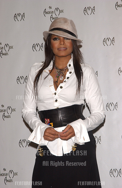 Nov 14, 2004; Los Angeles, CA: Pop star JANET JACKSON at the 32nd Annual American Music Awards at the Shrine Auditorium, Los Angeles, CA..