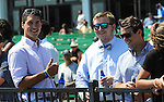 August 02 2015: Scenes on Haskell Day at Monmouth Park in Oceanport, NJ. Sophie Shore/ESW/CSM