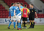 St Johnstone v Partick Thistle…11.02.17     Scottish Cup    McDiarmid Park<br />A dejected Blair Alston at full time<br />Picture by Graeme Hart.<br />Copyright Perthshire Picture Agency<br />Tel: 01738 623350  Mobile: 07990 594431