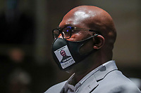 George FloydÌs brother Philonise Floyd attends the House Judiciary Committee hearing on ÎPolicing Practices and Law Enforcement AccountabilityÌ at the US Capitol in Washington, DC, USA, 09 June 2020. The hearing comes after the death of George Floyd while in the custody of officers of the Minneapolis Police Department and the introduction of the Justice in Policing Act of 2020 in the US House of Representatives.<br /> Credit: Michael Reynolds / Pool via CNP/AdMedia