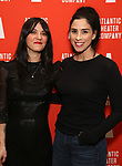 "Sharon Van Etten and Sarah Silverman attends the Atlantic Theater Company ""Divas' Choice"" Gala at the Plaza Hotel on March 4, 2019 in New York City."