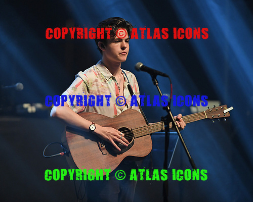 MIAMI BEACH, FL - AUGUST 04: Blake Richardson of New Hope Club performs at the Fillmore on August 4, 2017 in Miami Beach, Florida. Credit Larry Marano © 2017