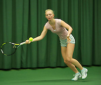 Rotterdam, The Netherlands, March 11, 2016,  TV Victoria, , NOJK 12/16 years, Jente Boersma<br /> Photo: Tennisimages/Henk Koster
