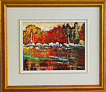 Lois Bauman is a signature member of the Alberta Society of Artists, an associate member of the Oil Painters of <br /> America, and an active member of the Federation of Canadian Aritsts.  Her paintings, rendered in an impressionistic style using loose brush strokes in brilliant colours, depict the landscapes of Canada.<br /> Her paintings can be found accross Canada, and in Japan, Wales, Ireland, England, New Zealand, Australia, and the U.S.A.
