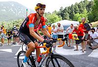 11th July 2021, Ceret, Pyrénées-Orientales, France; Tour de France cycling tour, stage 15, Ceret to  Andorre-La-Vieille;   TEUNS Dylan (BEL) of BAHRAIN VICTORIOUS  during stage 15 of the 108th edition of the 2021 Tour de France cycling race, a stage of 191,3 kms between Ceret and Andorre-La-Vieille.