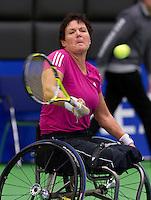 16-12-10, Tennis, Rotterdam, Reaal Tennis Masters 2010,    Dorrie Timmermans-van Hall