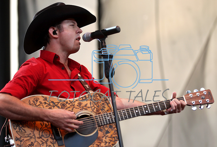 Troy Olsen performs at Harveys Lake Tahoe in Stateline, Nev., on Friday, July 29, 2011. .Photo by Cathleen Allison