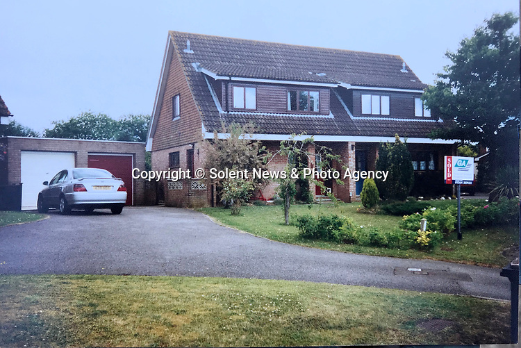 Pictured:   Julie and Rob Crook's house in 1999, when they moved in - before the front garden was replanted and the driveway extended.<br /> <br /> An exotic 'tequila plant' has suddenly rocketed to 25ft in height after mysteriously sprouting in a couple's front garden after two decades lying dormant.  The giant agave's stalk unexpectedly began shooting up 12 weeks ago and now towers over owners Rob and Julie Crook's two-storey home in a little cul-de-sac.<br /> <br /> The grandparents-of-two have been left stunned by the plant's 'Jack and the Beanstalk' type growth after planting it in 2005.  Mrs Crook was gifted a six-inch pup - an offspring of the parent plant - by a friend 20 years ago after her fascination with the asparagus-like shrub.<br /> <br /> But the 59-year-old said she never expected the agave to grow to such heights at the front of the couple's home in the small Hampshire village of Charlton.  SEE OUR COPY FOR DETAILS.<br /> <br /> © Solent News & Photo Agency<br /> UK +44 (0) 2380 458800