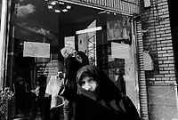 Teheran, Iran, March 20, 2007.A chaotic crowd swarms the popular Tajrish market to buy presents and food for Norouz, the upcoming Iranian new year celebration on March 21st.
