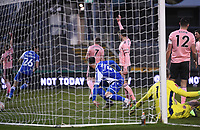9th January 2021; Memorial Stadium, Bristol, England; English FA Cup Football, Bristol Rovers versus Sheffield United; Max Ehmer of Bristol Rovers celebrates scoring in 61st minute 2-2