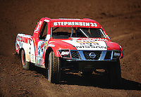 Apr 15, 2011; Surprise, AZ USA; LOORRS driver Jimmy Stephensen (33) during round 3 and 4 at Speedworld Off Road Park. Mandatory Credit: Mark J. Rebilas-.