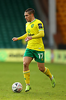 9th January 2021; Carrow Road, Norwich, Norfolk, England, English FA Cup Football, Norwich versus Coventry City; Emi Buendia of Norwich City breaks forward on the ball