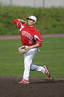 March 31, 2010: Newport High School shortstop Trace Tam Sing fires a throw across the diamond during a game against Issaquah High School at Issaquah High School in Issaquah, Washington.
