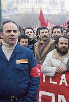 - Pirelli's workers on strike (Milan, 1974)<br /> <br /> - operai Pirelli in sciopero (Milano, 1974)