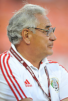 Mexico head coach Leonardo Cuellar. The USWNT defeated Mexico 7-0 during an international friendly, at RFK Stadium, Tuesday September 3 , 2013.