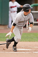 August 5, 2009:  Benjamin Theriot of the Idaho Falls Chukars, Rookie Class-A affiliate of the Kansas City Royals, during a game at the Orem Owlz Ballpark in Orem, UT. Photo by: Matthew Sauk/Four Seam Images