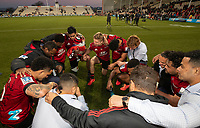 Action from the 2020 Super Rugby match between the Crusaders and Highlanders at Orangetheory Stadium in Christchurch, New Zealand on Saturday, 9 August 2020. Photo: Joe Johnson / lintottphoto.co.nz