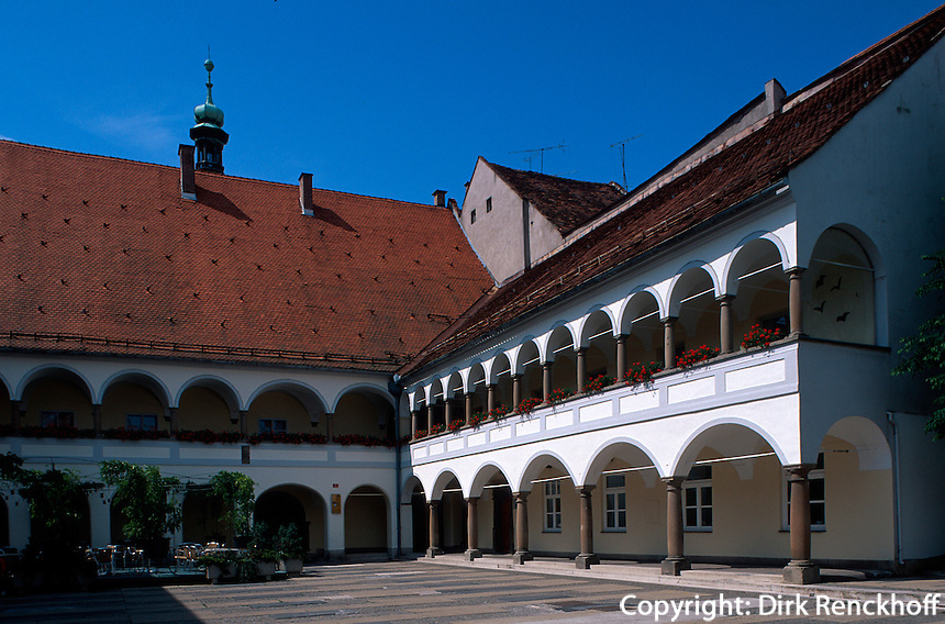 Slowenien, Maribor, Rathaus.