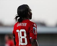 Danielle Carter of Reading during Tottenham Hotspur Women vs Reading FC Women, Barclays FA Women's Super League Football at the Hive Stadium on 7th November 2020