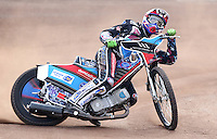 Adam Ellis of Lakeside Hammers - Lakeside Hammers Press & Practice Day at the Arena Essex Raceway, Pufleet - 20/03/15 - MANDATORY CREDIT: Rob Newell/TGSPHOTO - Self billing applies where appropriate - 0845 094 6026 - contact@tgsphoto.co.uk - NO UNPAID USE