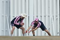 Slip  fielding practice - Stephen Eskinazi during Middlesex CCC vs Hampshire CCC, Bob Willis Trophy Cricket at Radlett Cricket Club on 11th August 2020
