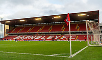 21st November 2020, Oakwell Stadium, Barnsley, Yorkshire, England; English Football League Championship Football, Barnsley FC versus Nottingham Forest; General View of the empty stadium before kick off