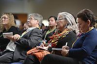 """BOGOTÁ -COLOMBIA. 10-10-2014. Maria Eugenia Guzman de Antequera durante el Encuentro por la """"Dignidad de las Víctimas del Genocidio contra La UP"""" realizado hoy, 10 de octuber de 2014, en la ciudad de Bogotá./ Maria Eugenia Guzman during the Meeting for the """"Dignity of Victims of Genocide against The UP"""" took place today, October 10 2014, at Bogota city. Photo: Reiniciar /VizzorImage/ Gabriel Aponte<br /> NO VENTAS / NO PUBLICIDAD / USO EDITORIAL UNICAMENTE / USO OBLIGATORIO DELCREDITO"""