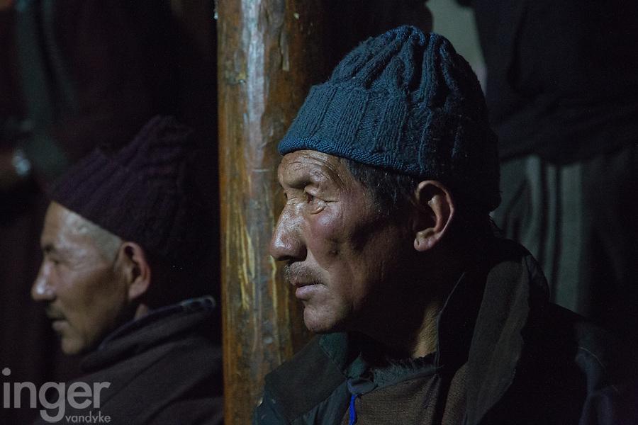Buddhist Pilgram at Ulley, Ladakh
