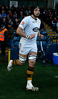 Photo: Richard Lane/Richard Lane Photography. Worcester Cavaliers v Wasps A. Premiership Rugby Shield. 08/04/2019. Wasps' Tim Cardall.