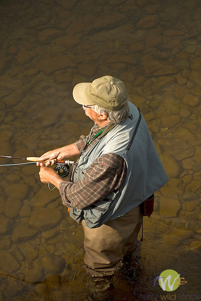 Trout Fishing, Muncy Creek, Lycoming County