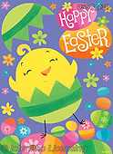 Sarah, EASTER, OSTERN, PASCUA, paintings+++++EstChick-15-B-1,USSB434,#e#, EVERYDAY
