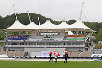 A bleak view on the fourth day of the WTC Final during India vs New Zealand, ICC World Test Championship Final Cricket at The Hampshire Bowl on 21st June 2021