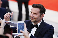 VENICE - August 31: Bradley Cooper on August 31, 2018 in Venice, Italy.(By Mark Cape/Insidefoto)